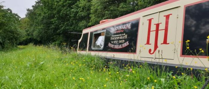 Thorn Marine luxury canal boat hire Bridgewater canal cheshire