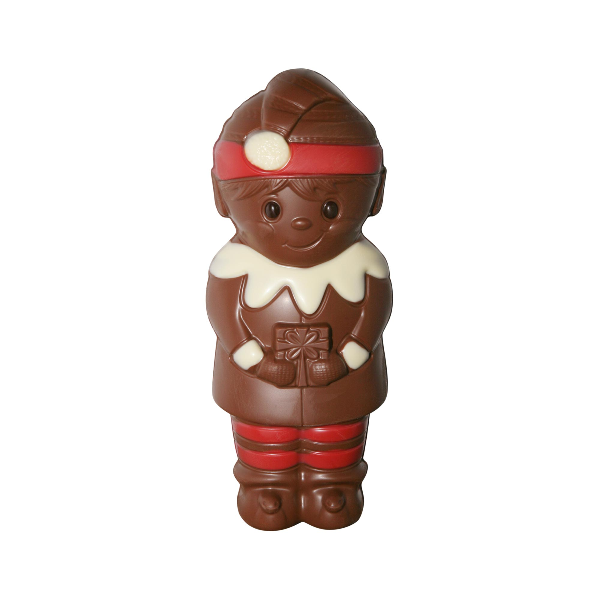 cheeky elf model chocolate