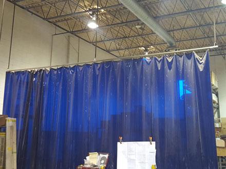 Welding Screens  Curtains  Fire Retardant  Safety Gear