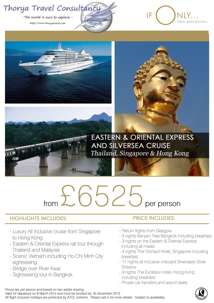 BKK E&O and Silversea tour