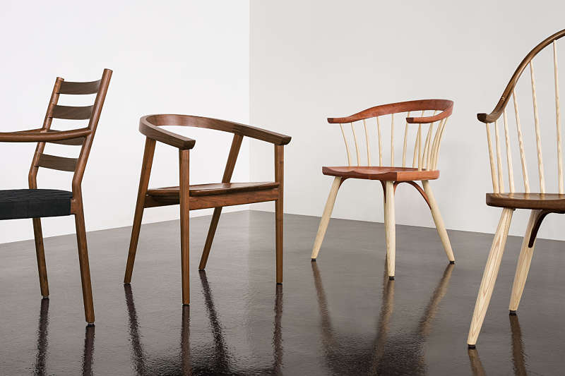 how are chairs made rocking at lowes handcrafted american furniture shop by room thos moser