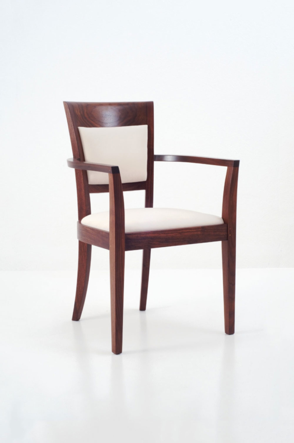 dining chairs with arms upholstered burnt orange armchair harpswell arm chair back shaker