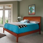 Sleigh Bed Flat Footboard