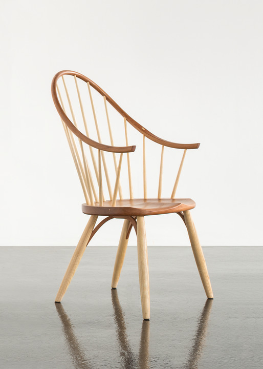 windsor chair with arms xbox one racing thos moser continuous arm
