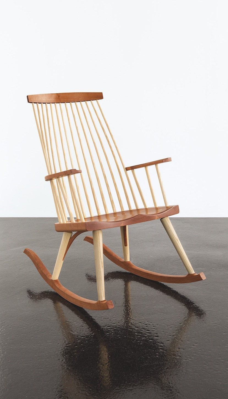 rocking chair rockers desk on wood floor new gloucester rocker thos moser
