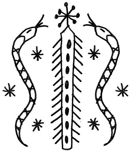 Voodoo Symbols for Their Gods