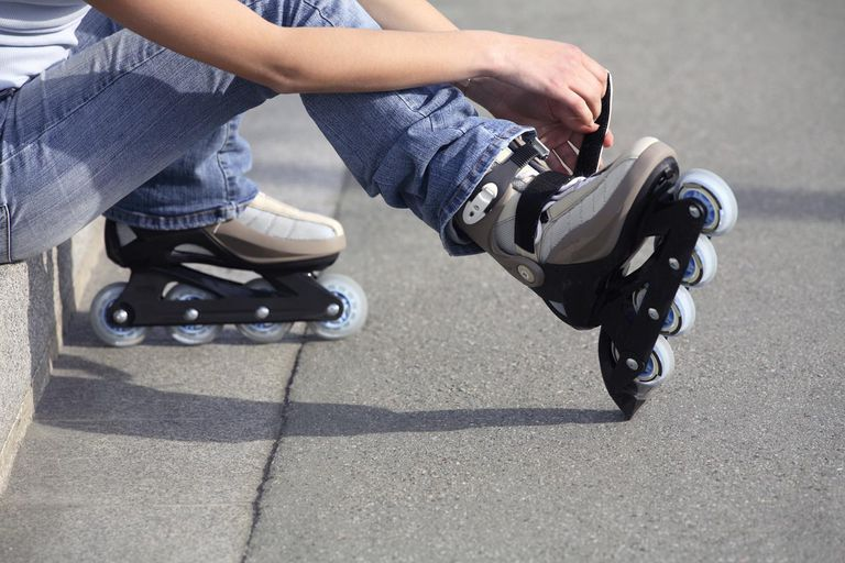 history of rollerblades and