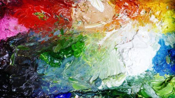 Introduction Acrylic Mediums Painting