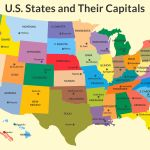 The Capitals Of The 50 Us States