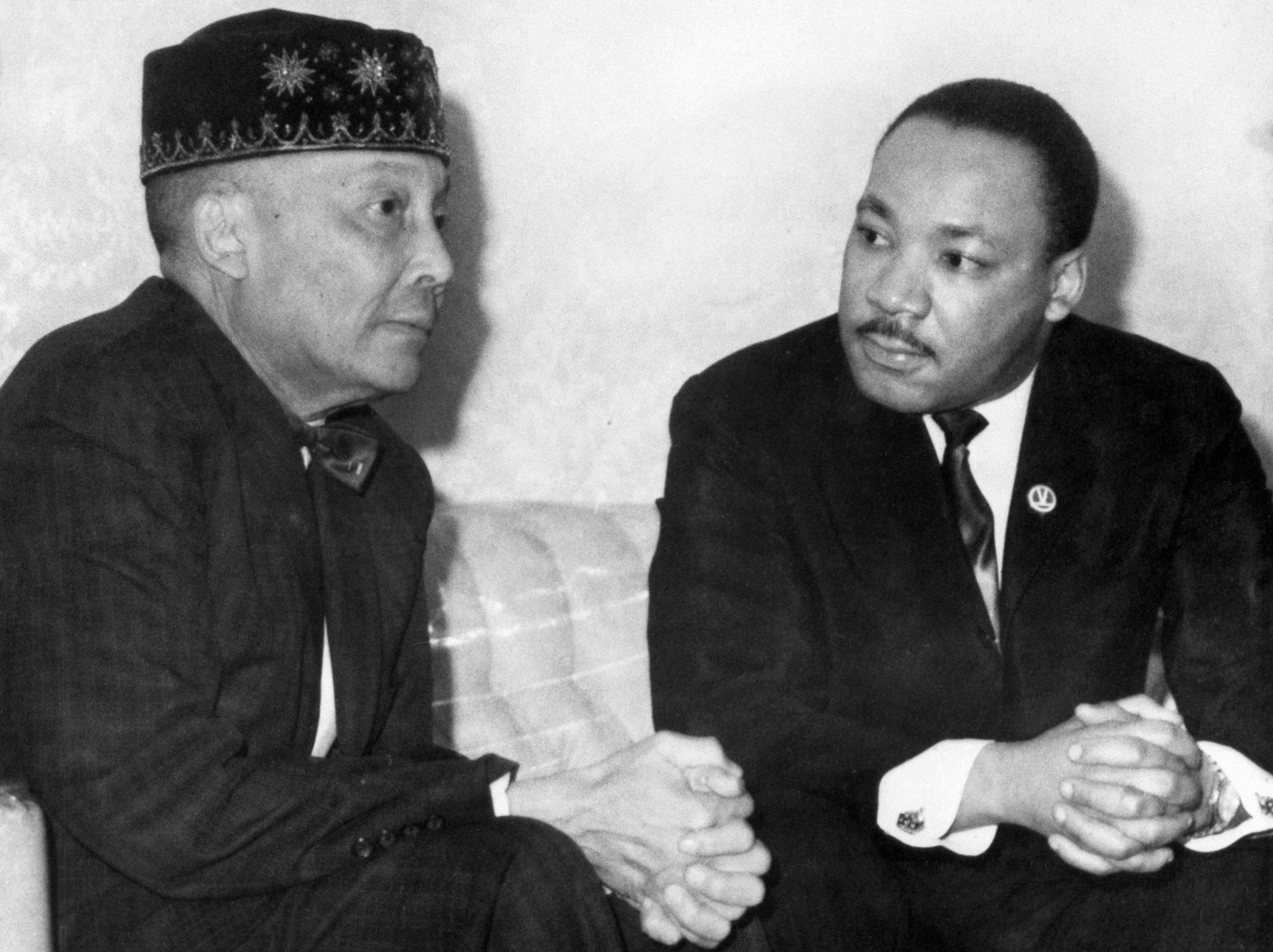 Elijah Muhammad The Leader Of The Nation Of Islam