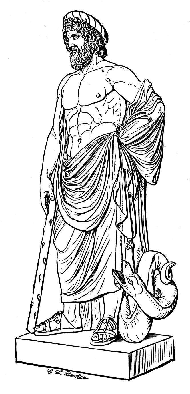Asclepius, God of Healing in Greek & Roman Mythology