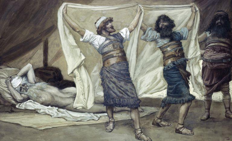 Tissot Noahs Drunkenness