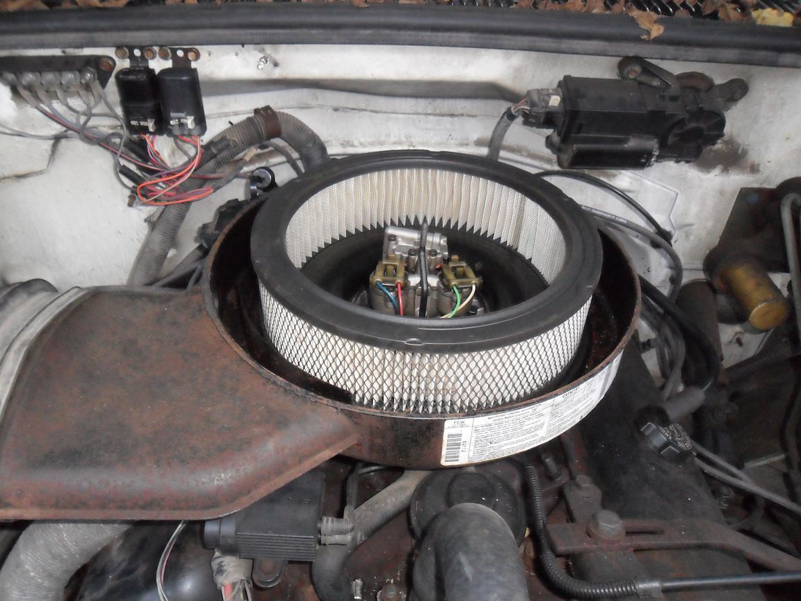 hight resolution of air filter assembly