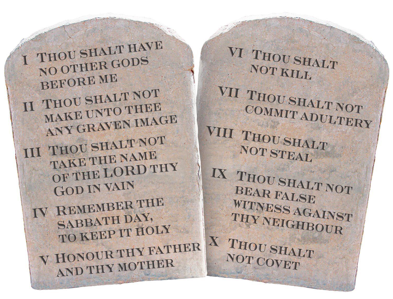 Tenth Commandment Thou Shalt Not Covetysis