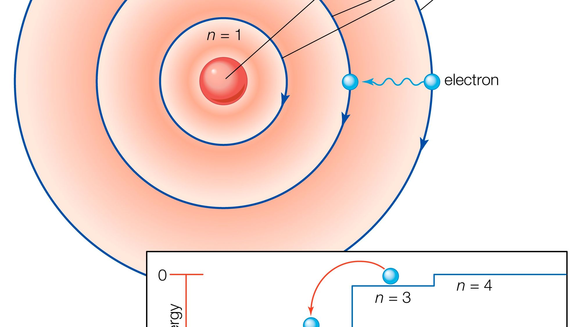 hight resolution of bohr diagram for sodium ion positive