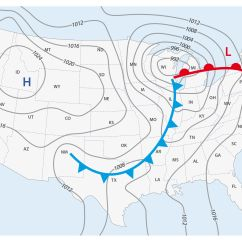 Frontal Rainfall Diagram Vr6 Obd1 Wiring Weather Front Definitions And Map Symbols