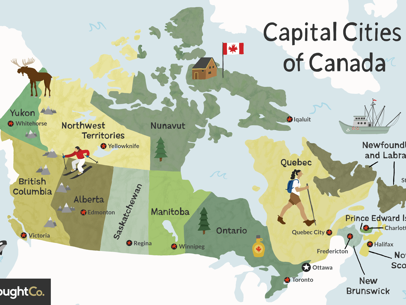 Capital Cities Of Canada