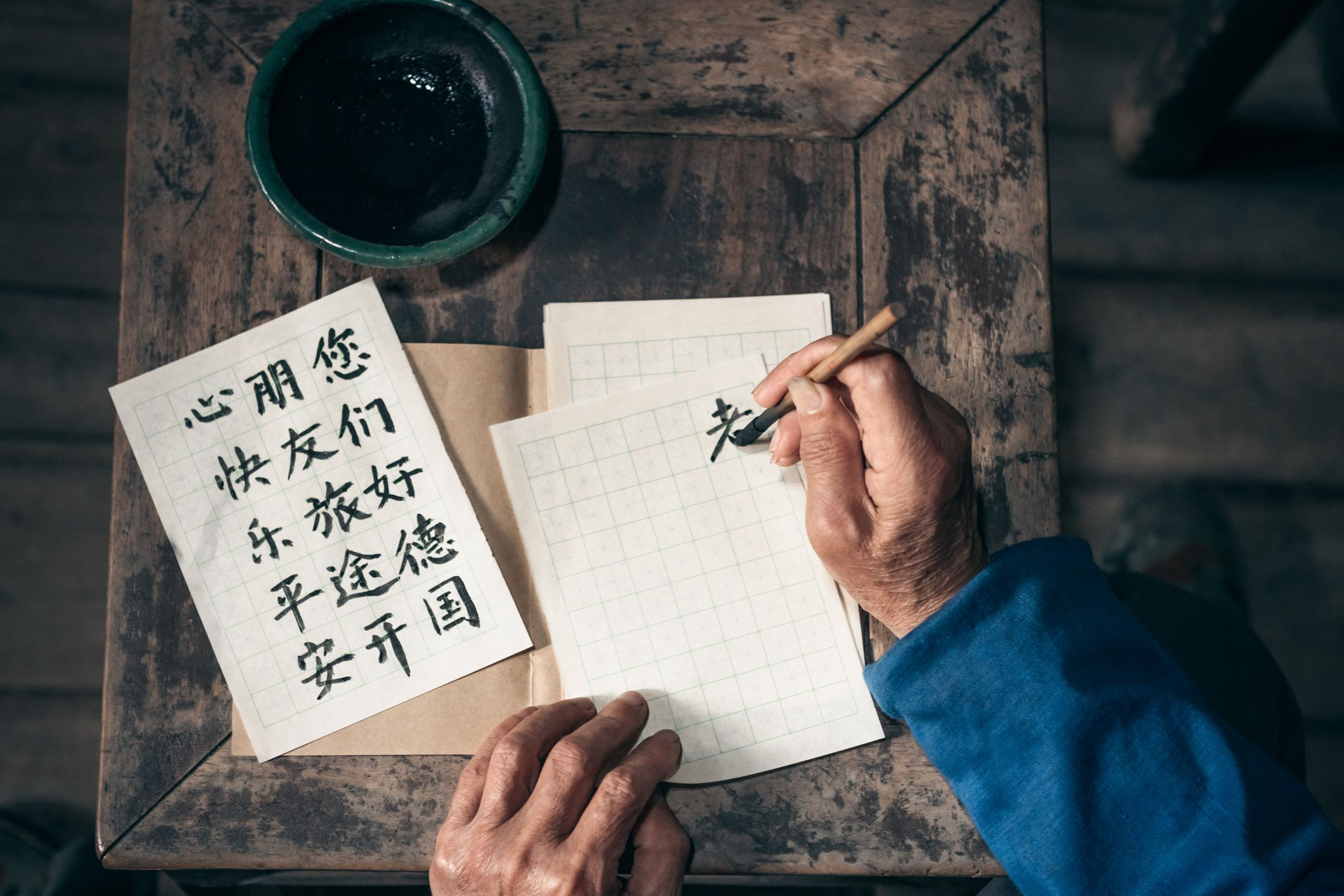 Learn The Building Blocks Of Chinese Characters