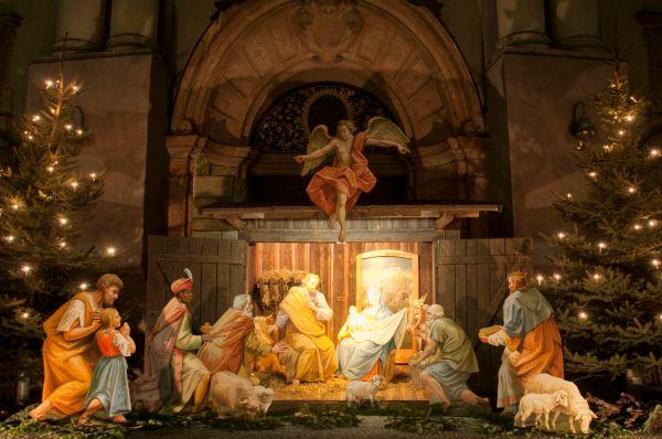 Nativity Scene Saint Francis Christmas History