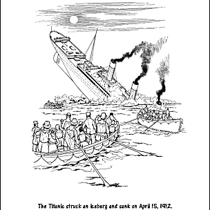 Free Printable Titanic Worksheets and Coloring Pages