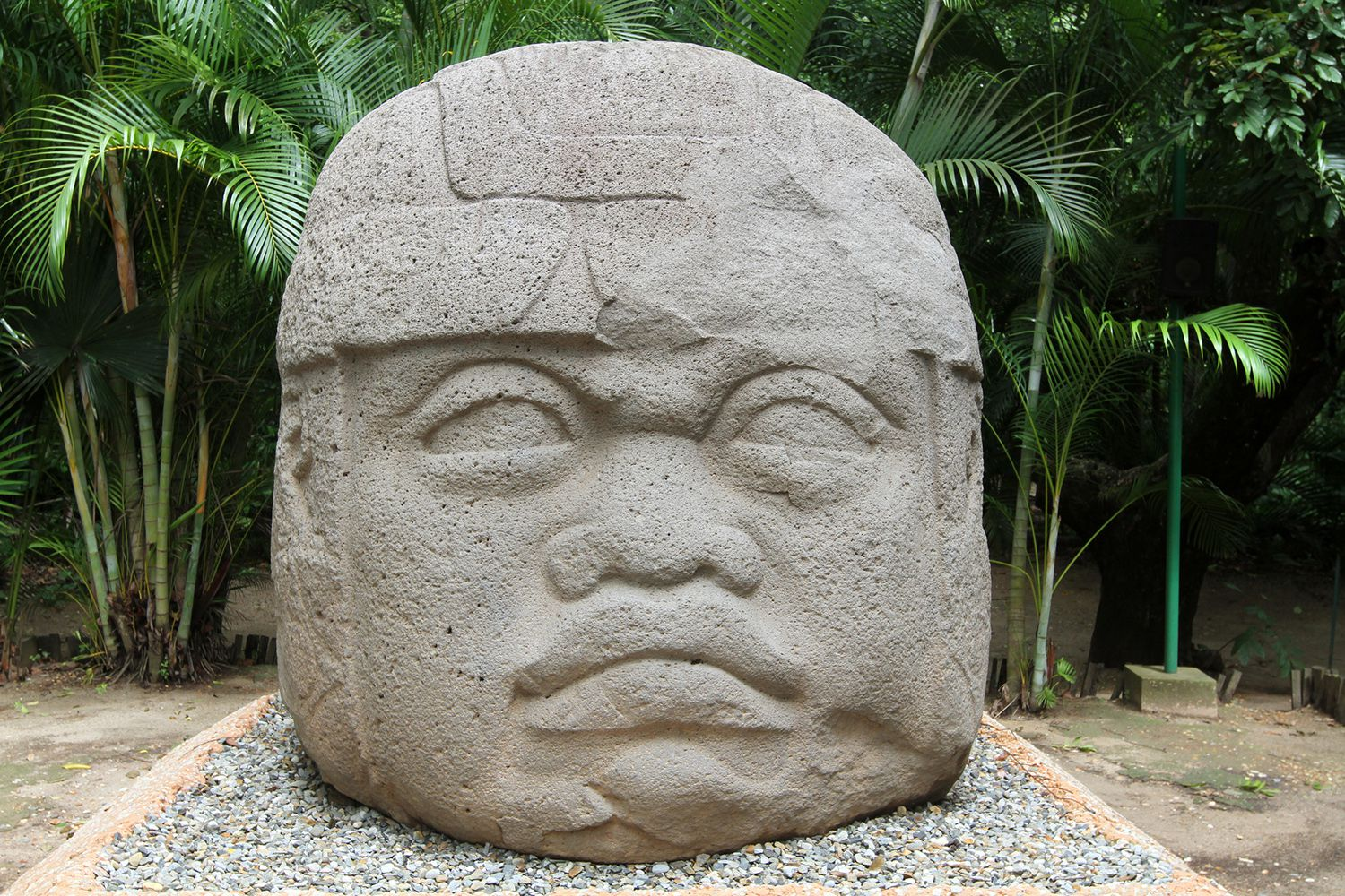 The Colossal Heads Of The Olmec