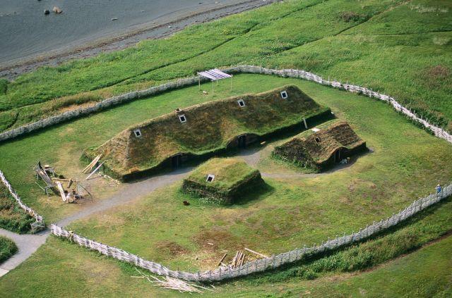 Hasil gambar untuk L'Anse aux Meadows, Newfoundland, Kanada