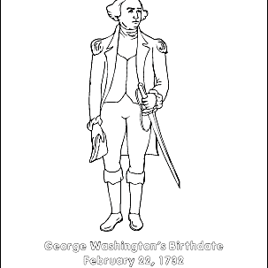 George Washington Printables: Wordsearch