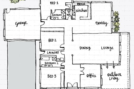How To Draw A Ladder On A Floor Plan
