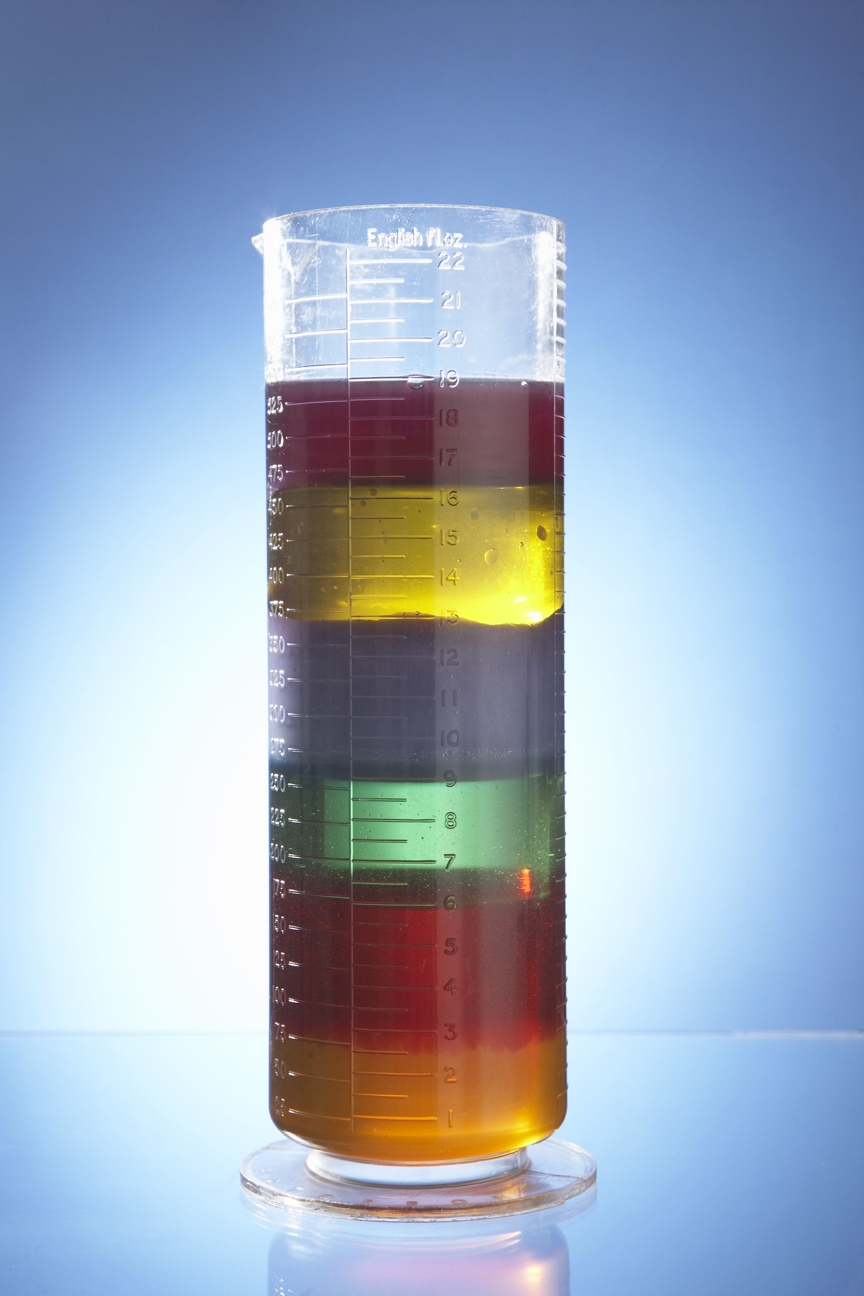 Make A Liquid Layers Density Column