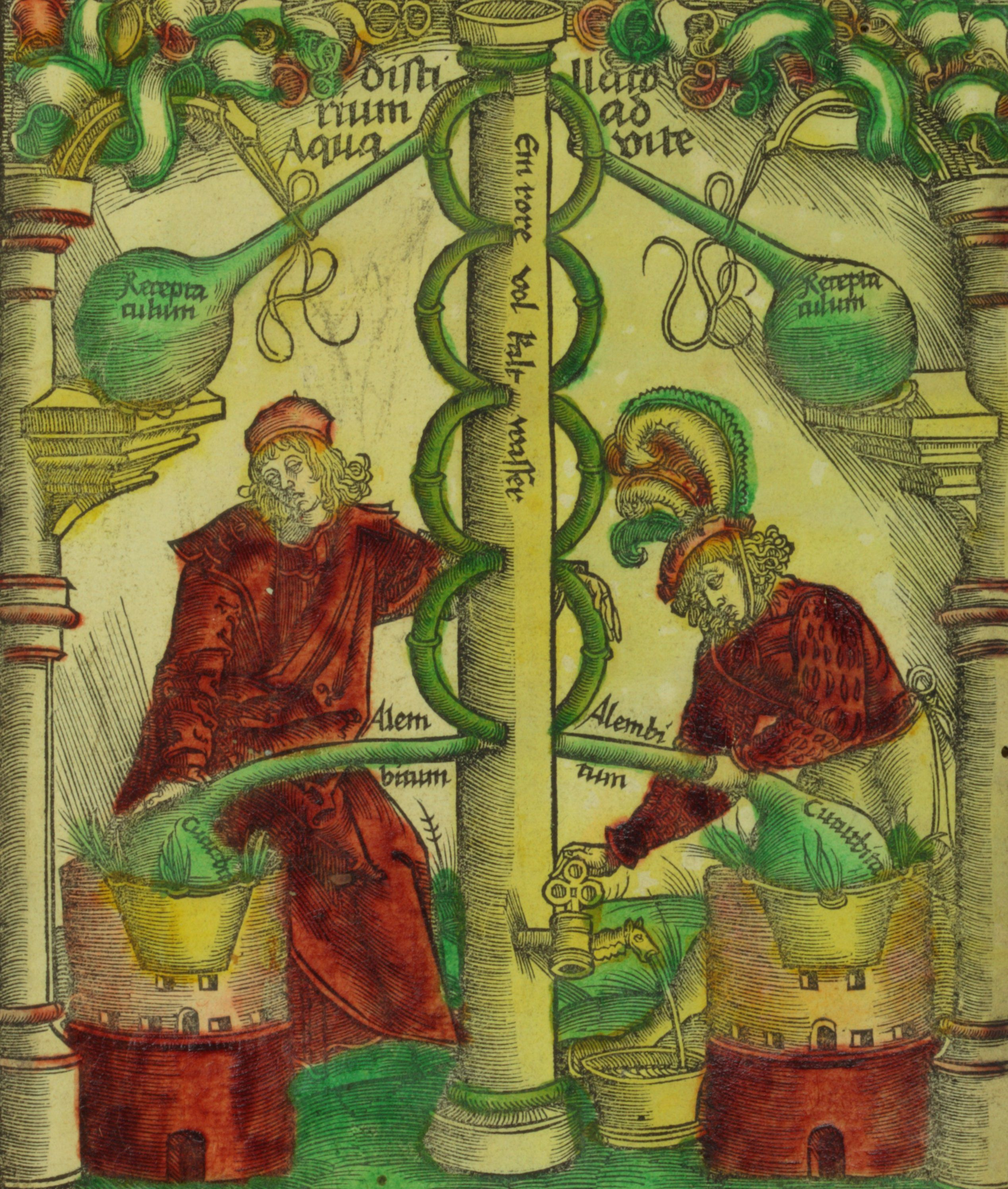 Alchemy In The Middle Ages