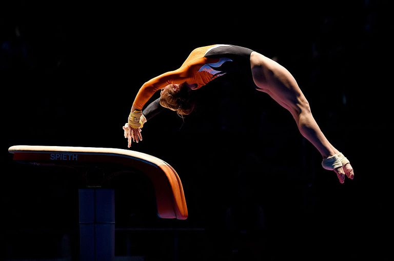 The Amanar Vault In Gymnastic Competition