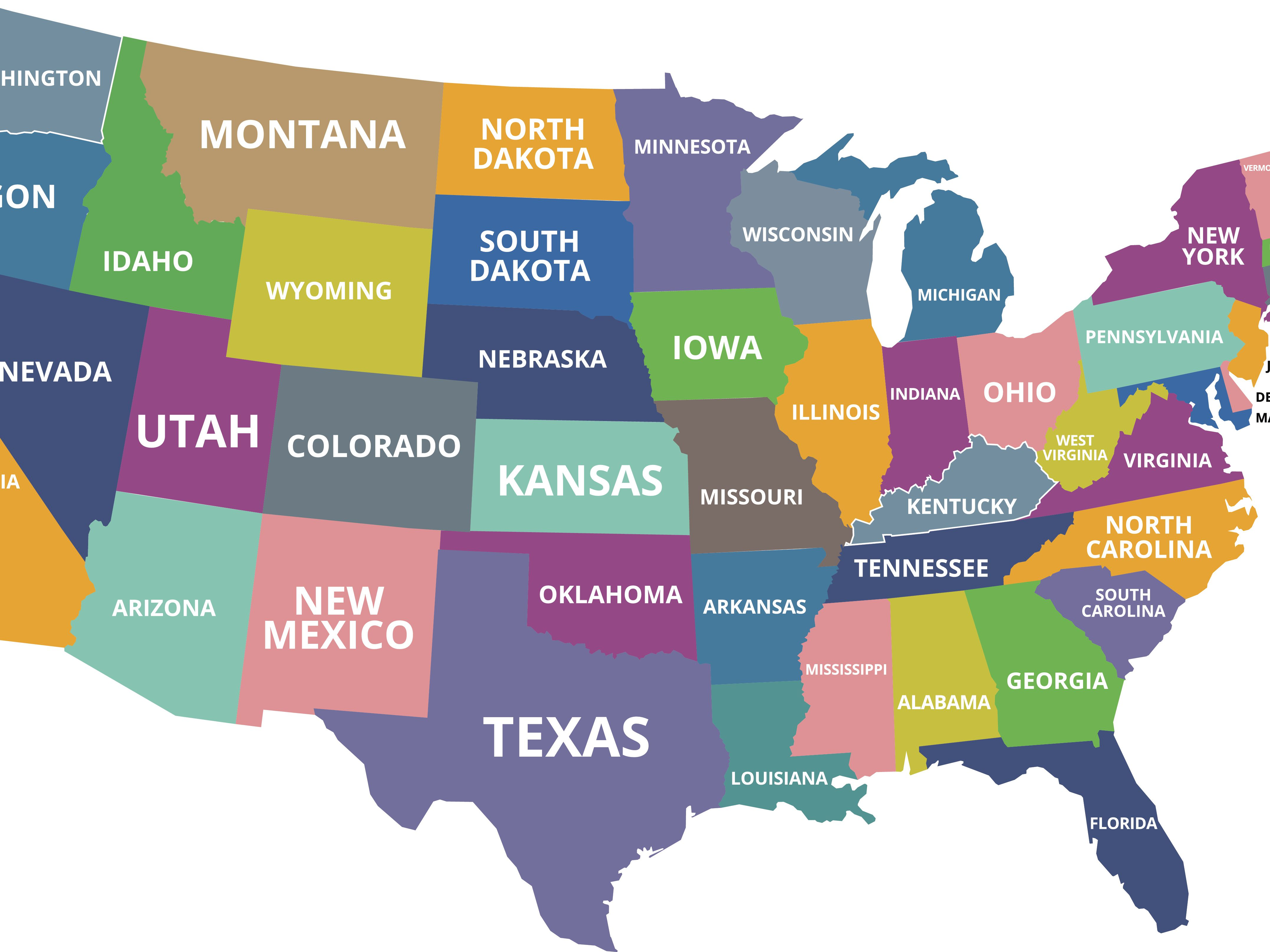 Population Density Map Colorado