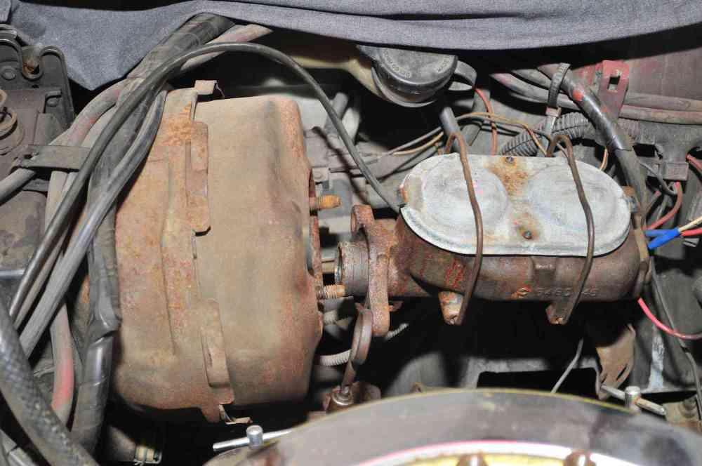 medium resolution of corvette brake vacuum booster