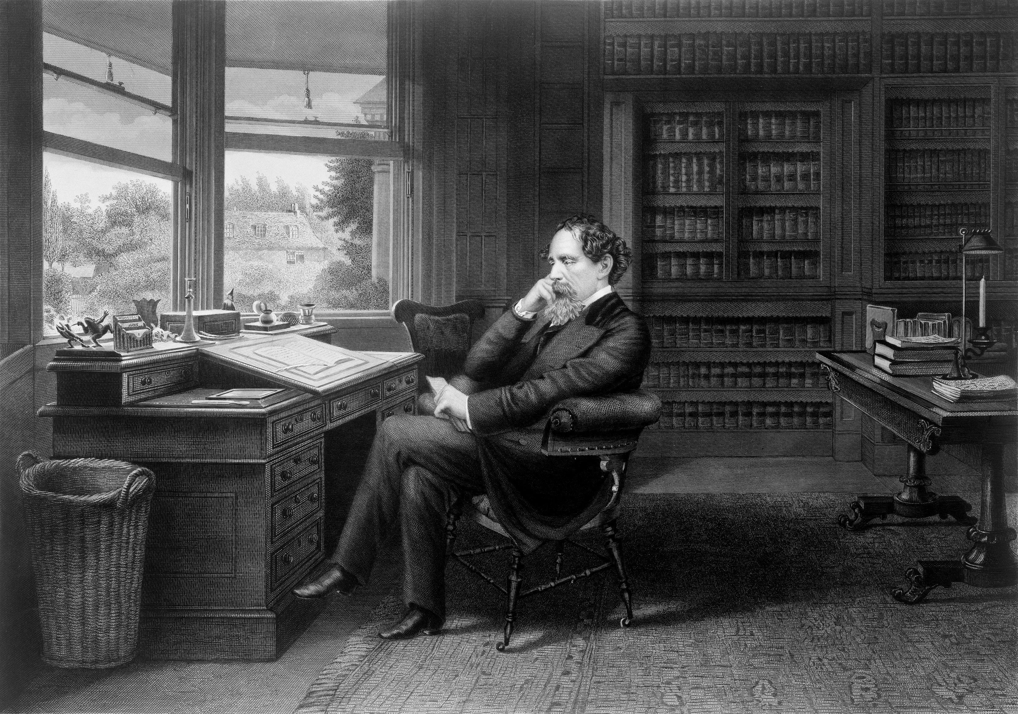 Biography Of Charles Dickens English Novelist