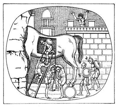 Who Built the Trojan Horse?