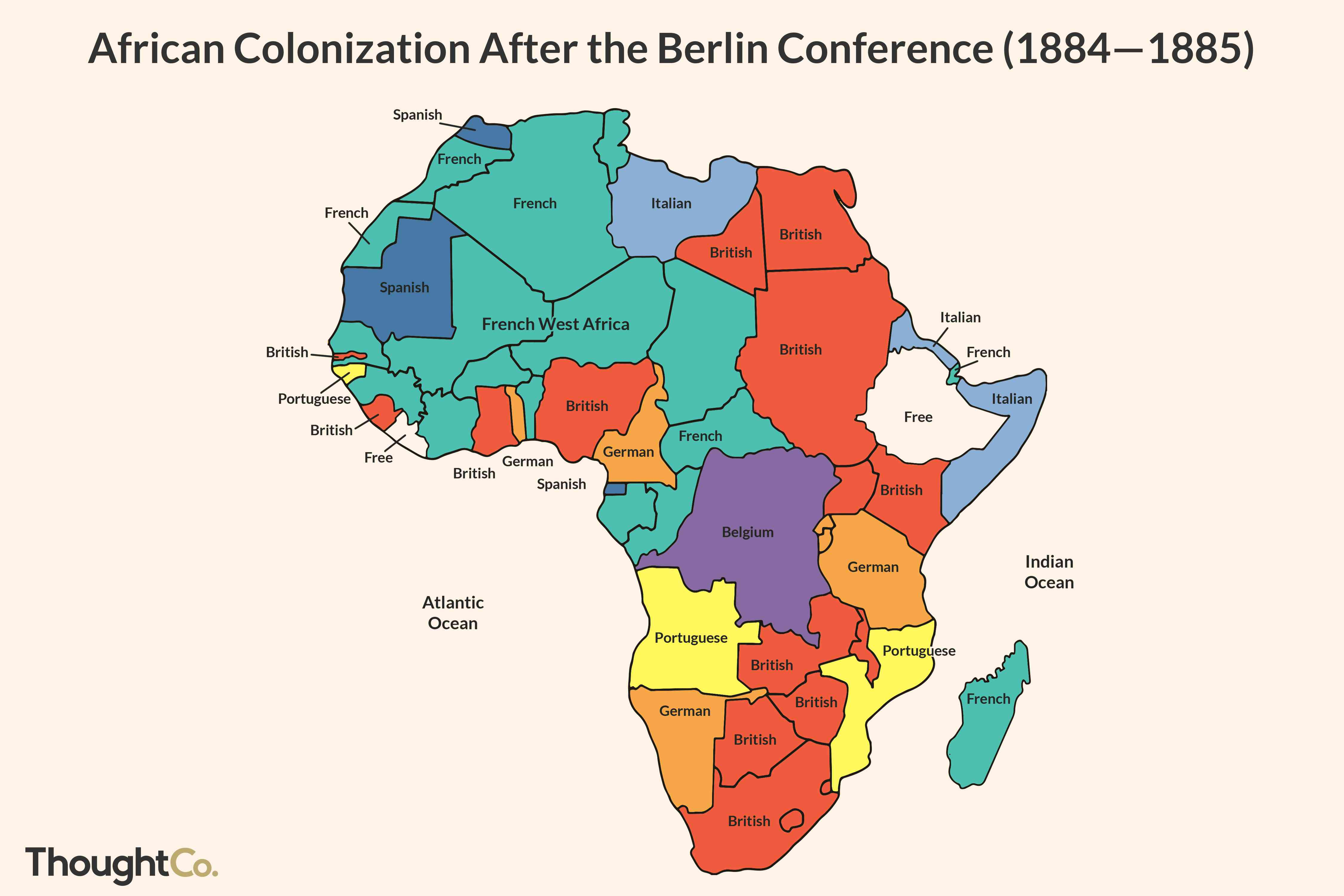 The Berlin Conference To Divide Africa