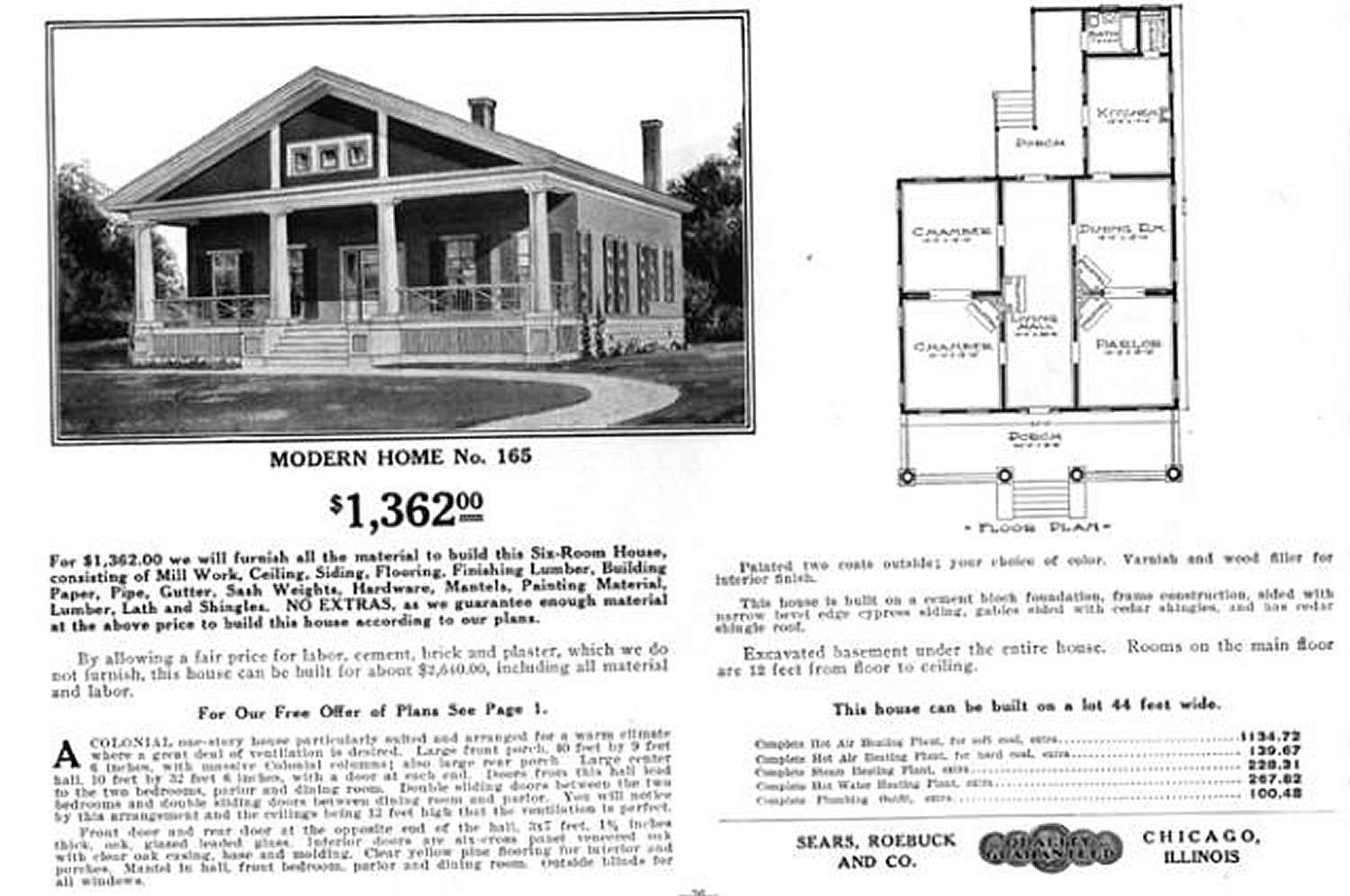 Bungalow House Plans And Other Small Homes By Mail