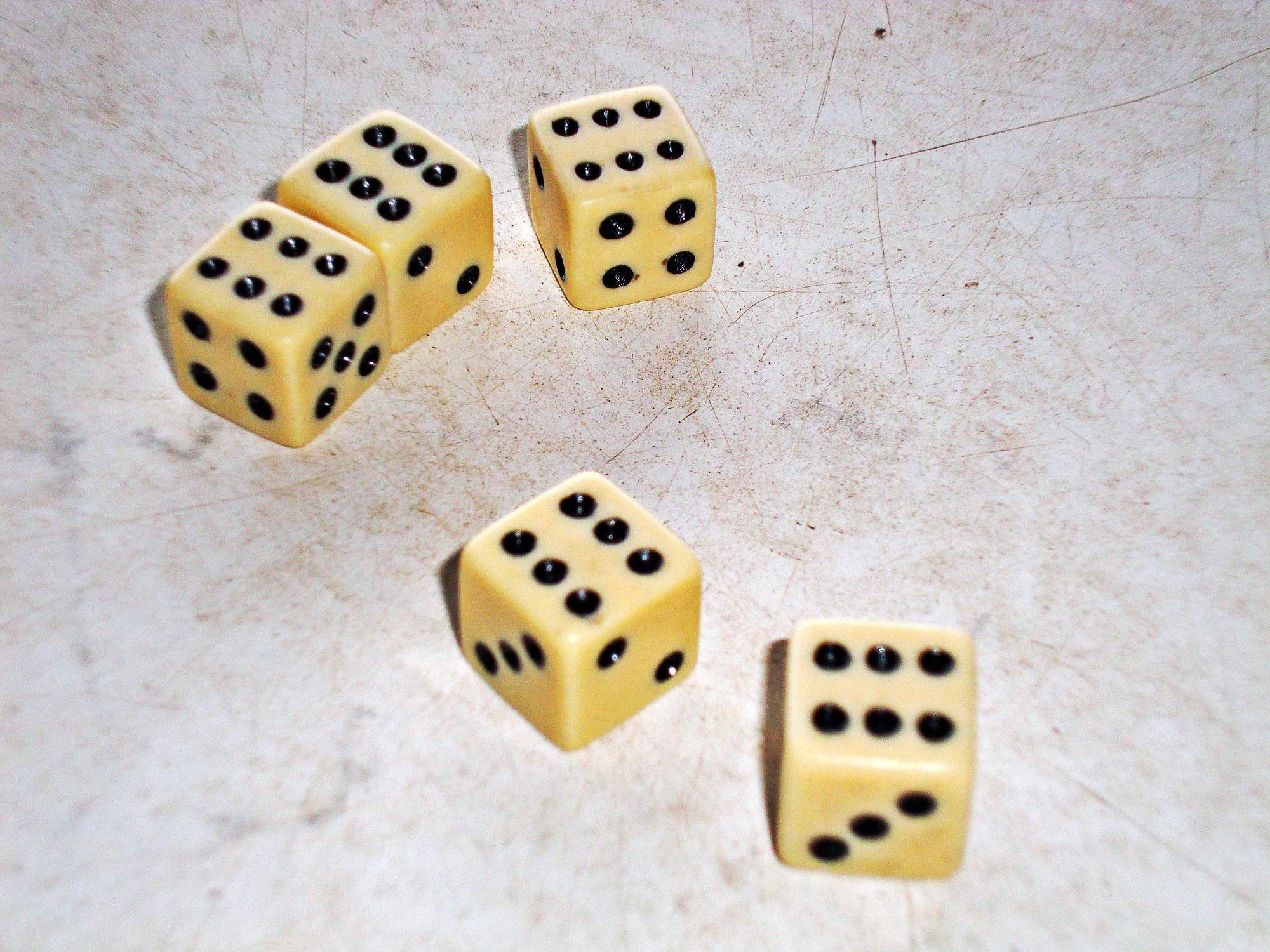 The Probability Of Rolling A Yahtzee
