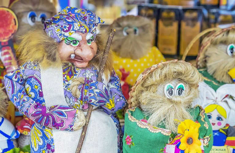 russian folklore baba yaga