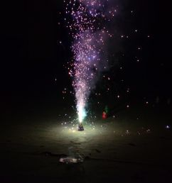 homemade fountain firework [ 4928 x 3264 Pixel ]