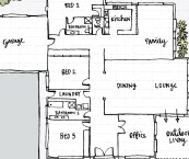 how to draw floor plans for a house
