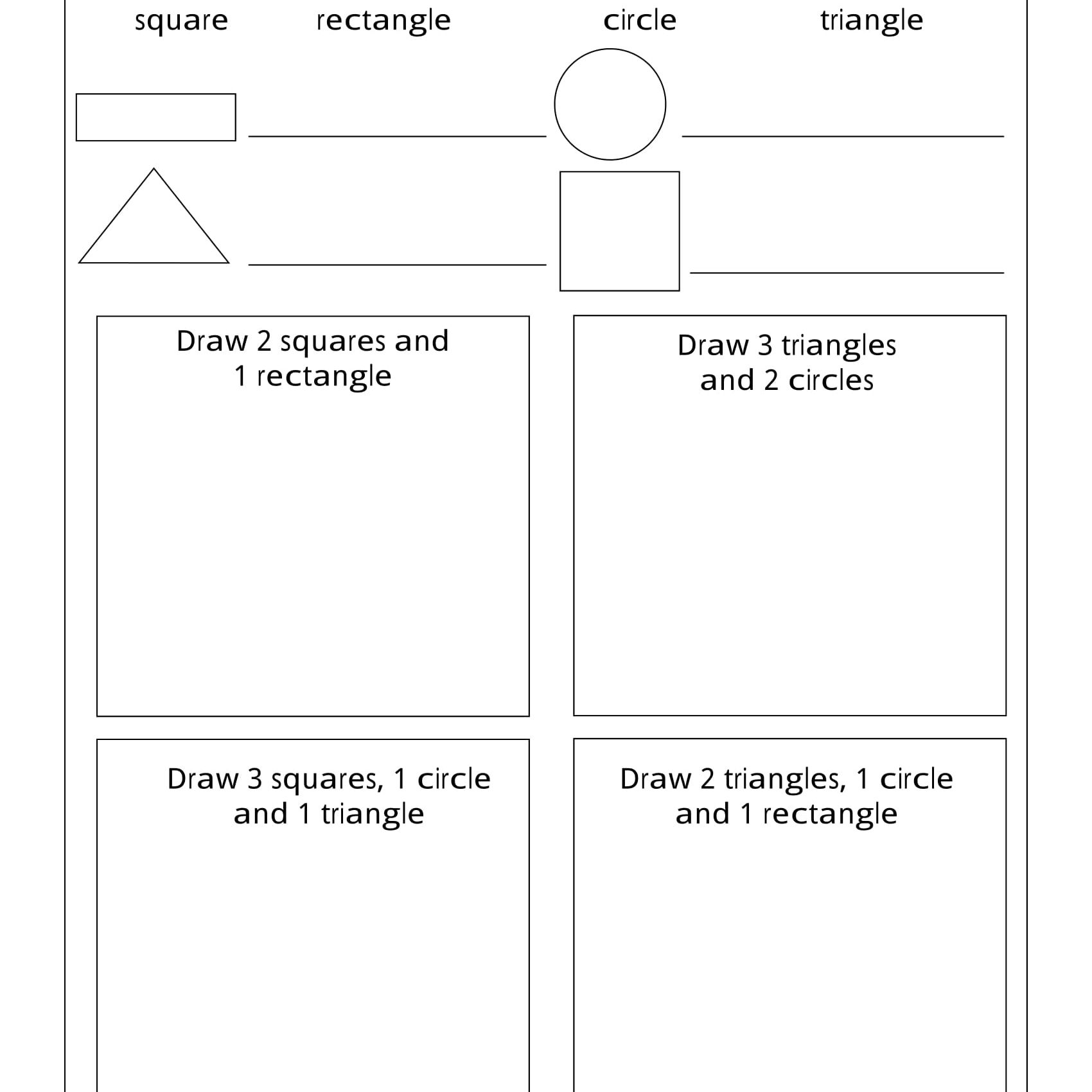 3d Geometry Worksheets Grade 4