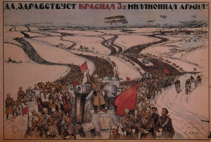 Image result for russian civil war