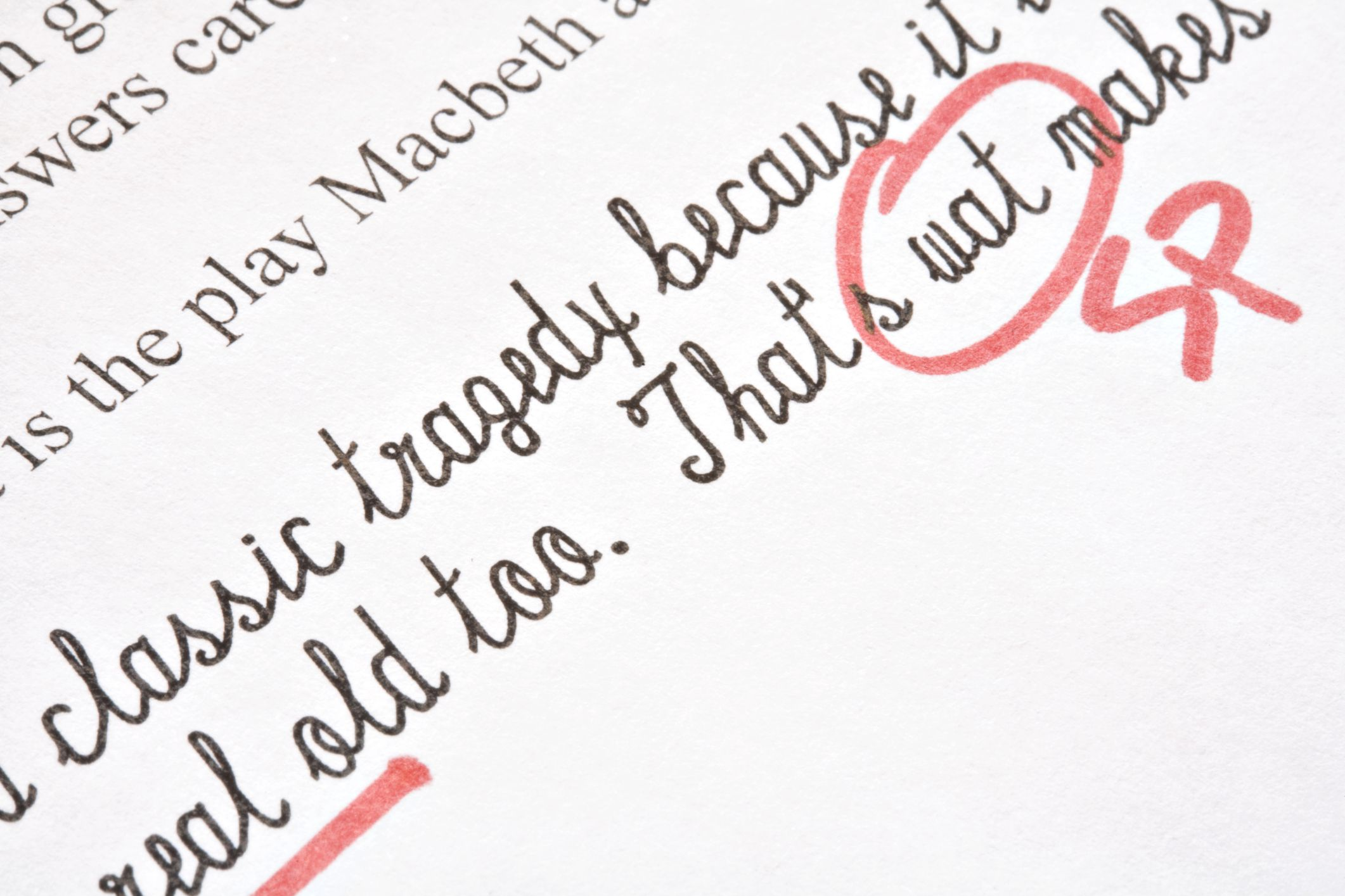 Common Editing And Proofreading Marks In Composition