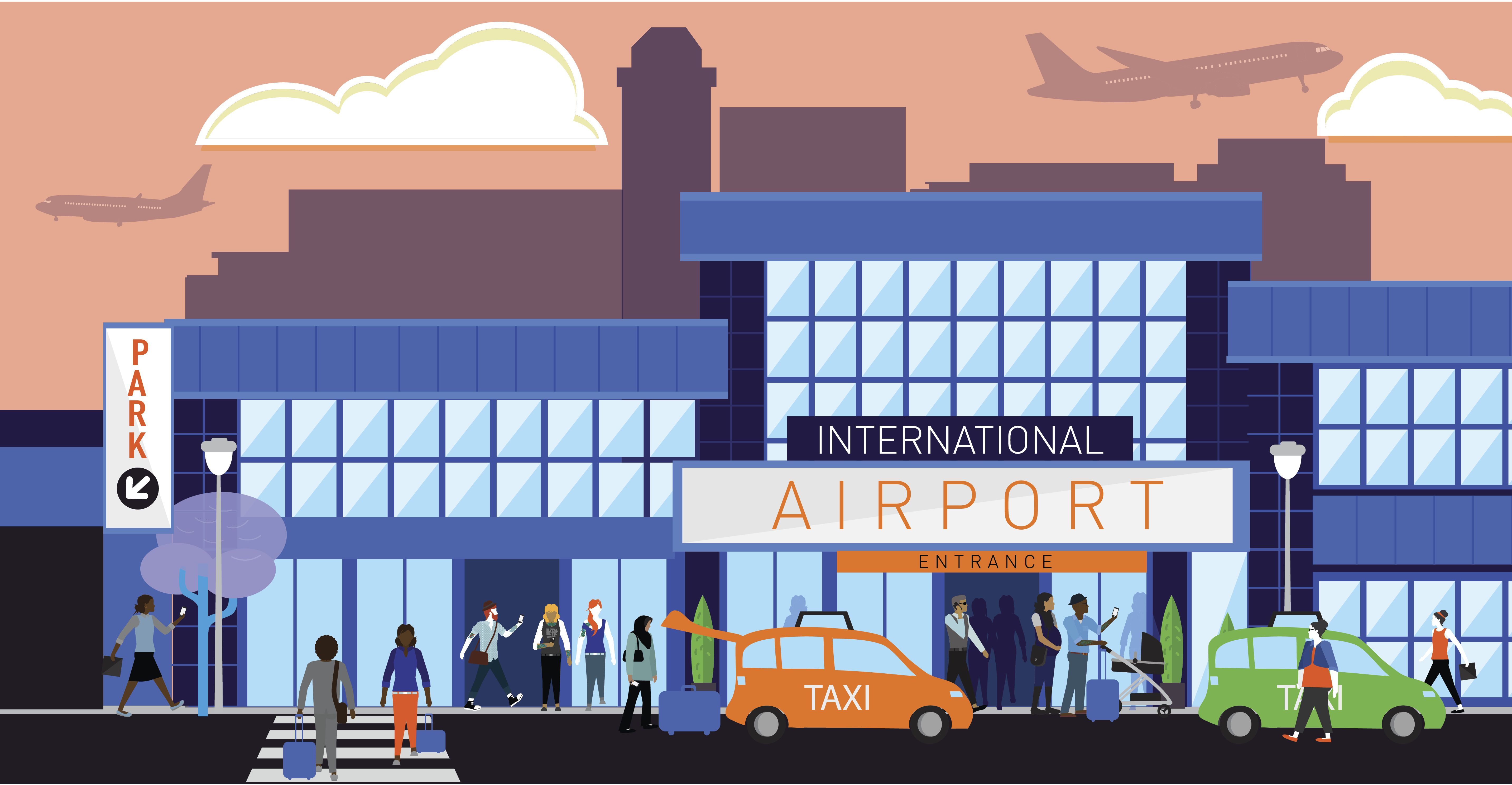 Airport Dialogue And Quiz For Beginner Esl Students