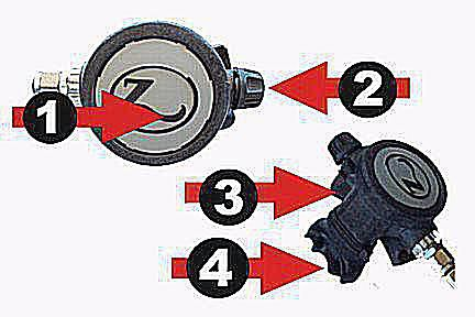 scuba gear diagram servo wiring arduino description of diving regulator parts second stage a