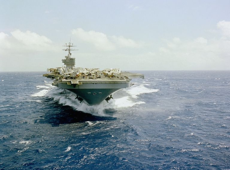 aircraft carrier diagram 7 pin plug wiring australia all about the uss gerald ford dwight d eisenhower