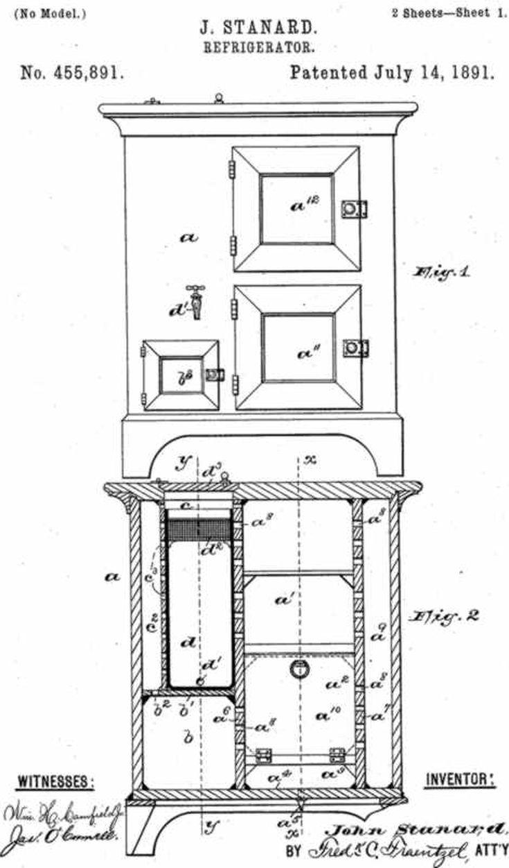 folding chair nathaniel alexander cover king york on the better refrigerator maker john standard s biography