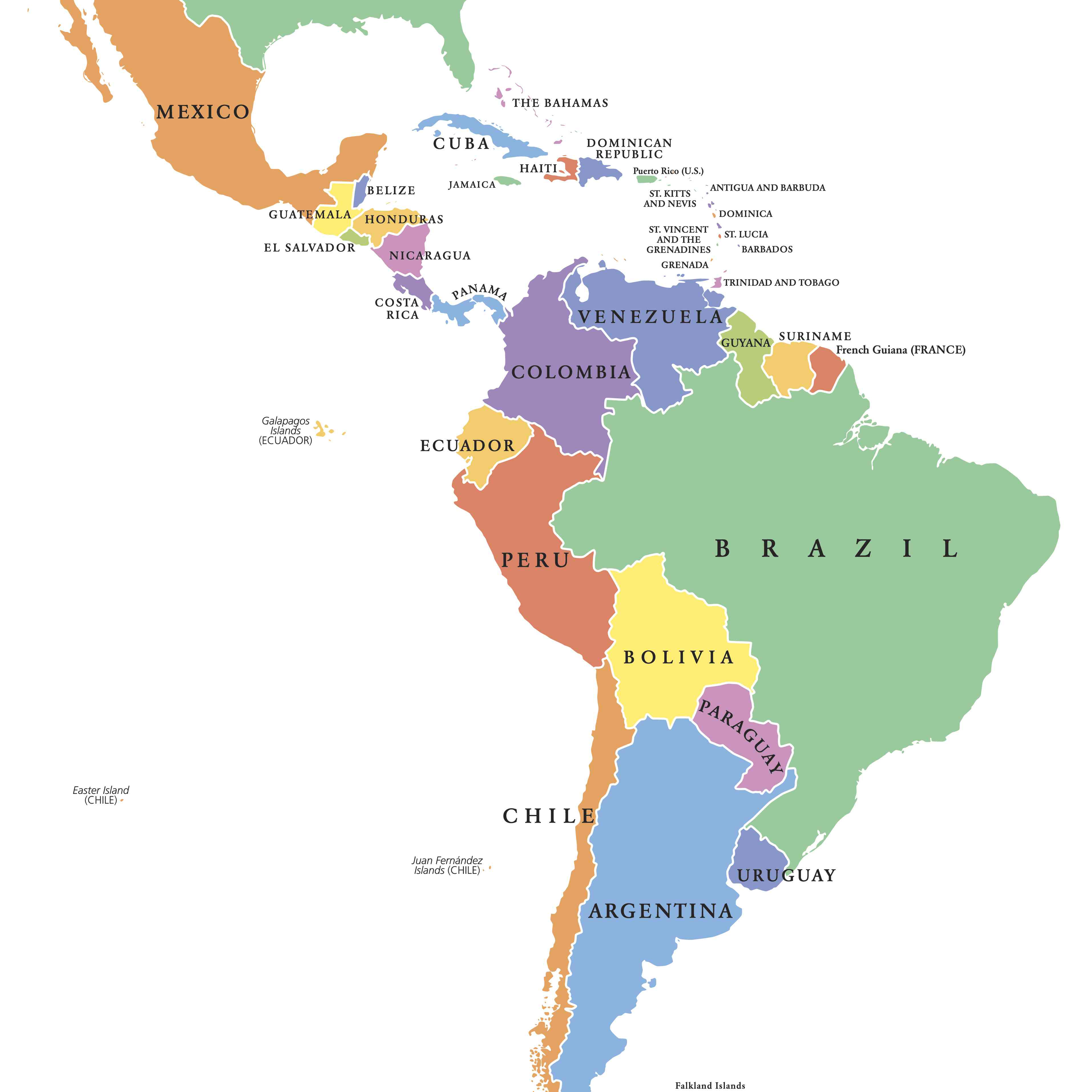 What Is Latin America Definition And List Of Countries