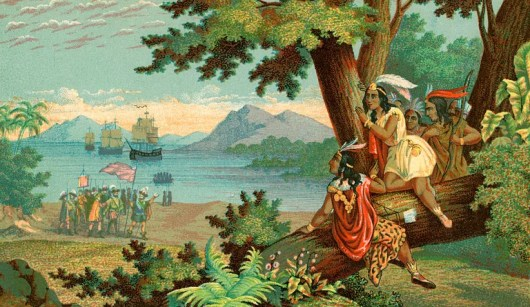 Christopher Columbus in the New World